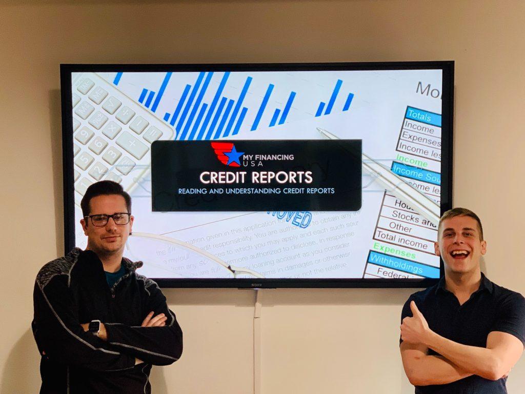 My Financing USA Credit Reports Class