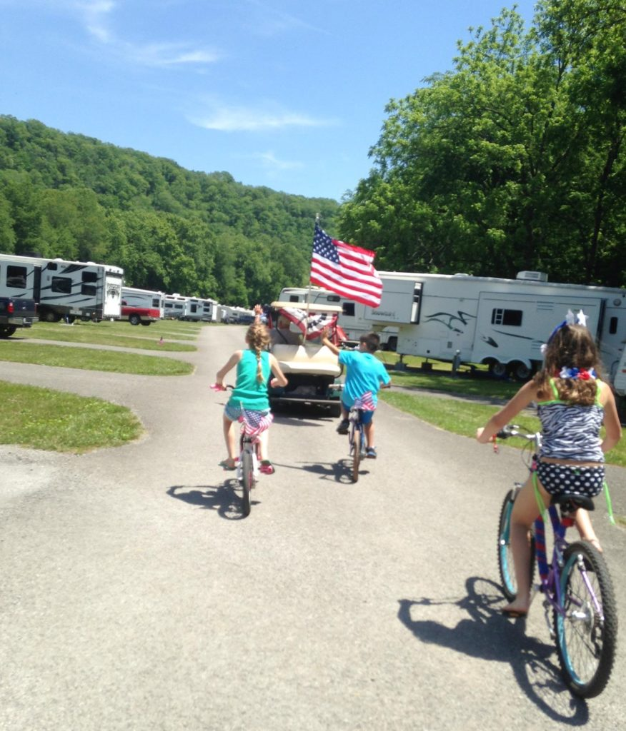 RV Park Bike Parade Memory