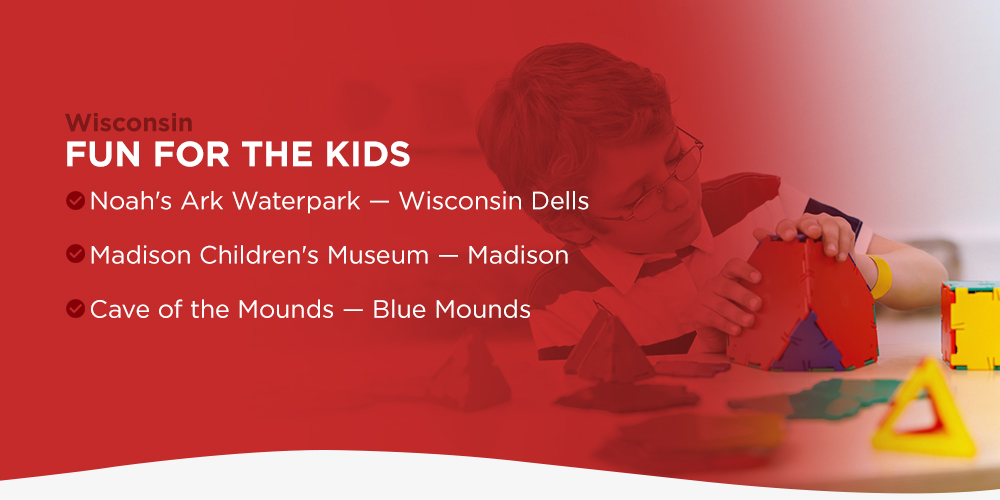 Wisconsin Fun for the Kids Road Trip Stops