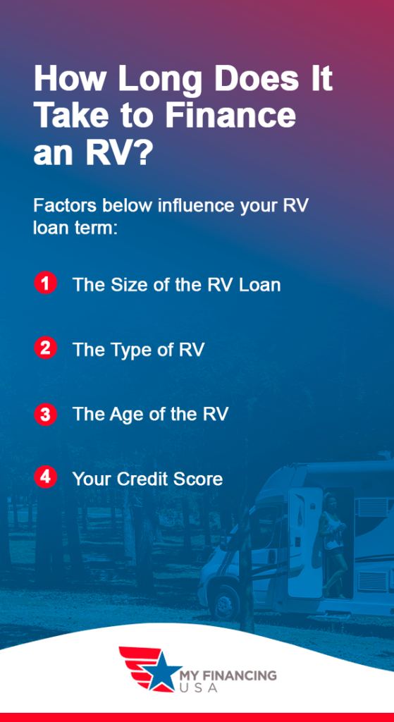 How Long Does It Take to Finance an RV?