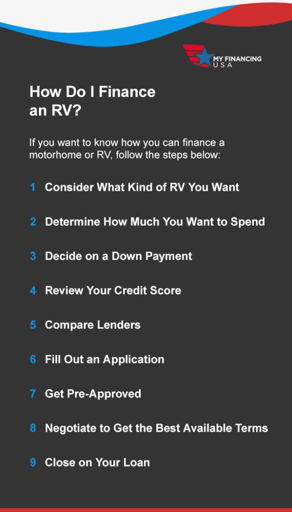 How Do I Finance an RV?